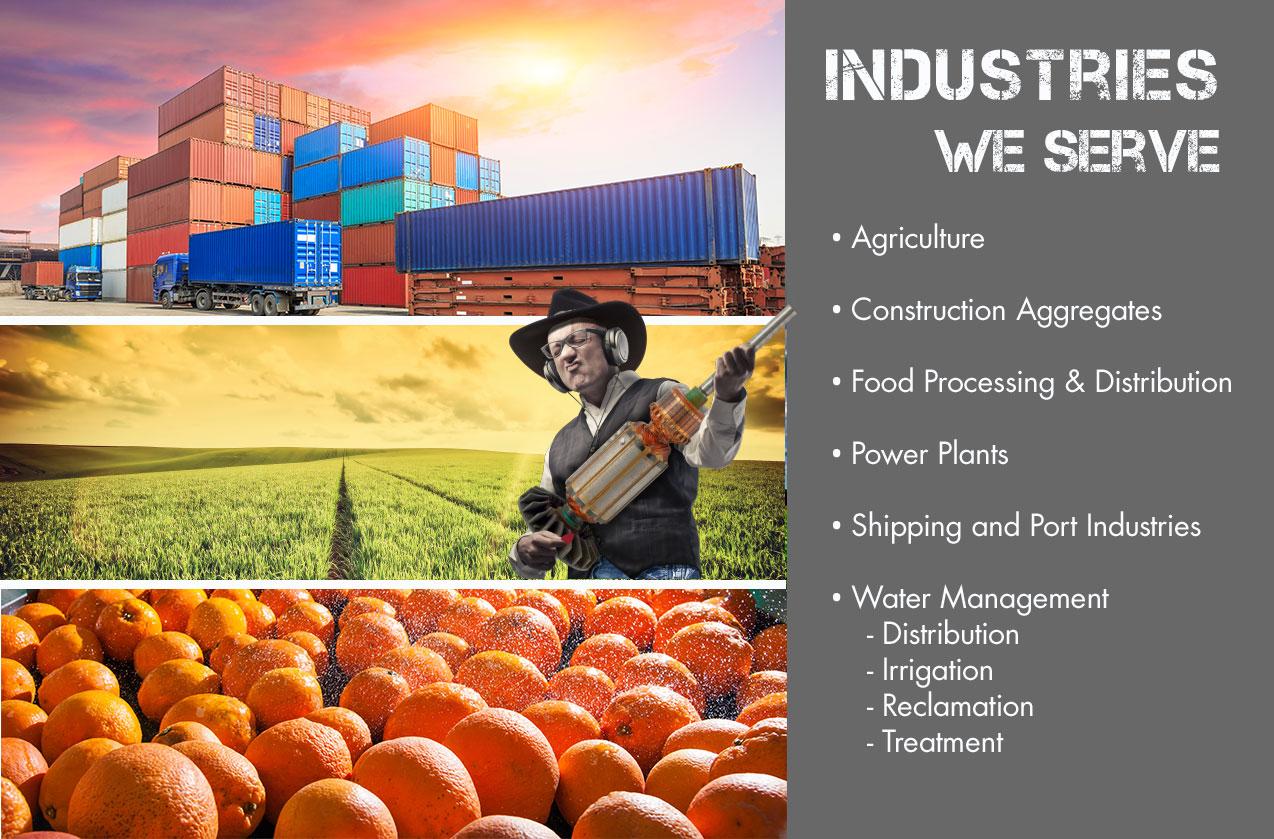 Industries that we serve